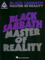 Black Sabbath - Master Of Reality Sheet Music