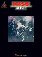 Kiss - Alive! Sheet Music