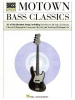 Motown Bass Classics Sheet Music