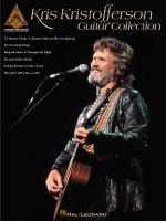 Kris Kristofferson Guitar Collection Sheet Music