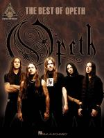The Best Of Opeth Sheet Music