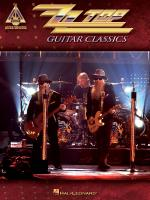 Zz Top Guitar Classics Sheet Music