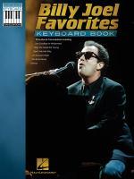 Billy Joel Favorites Keyboard Book Sheet Music