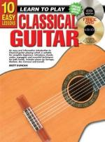 10 Easy Lessons - Classical Guitar Sheet Music