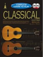 Progressive Complete Learn To Play Classical Guitar Manual Sheet Music