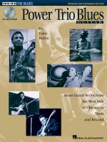 Power Trio Blues Guitar - Updated & Expanded Edition Blues Guitar Styles From The West Side Of Chica Sheet Music