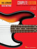 Hal Leonard Electric Bass Method - Complete Edition Contains Books 1, 2, And 3 Bound Together In One Sheet Music