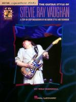 The Guitar Style Of Stevie Ray Vaughan Sheet Music