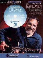 The Guitar Of Jorma Kaukonen Detailed Analysis Of 8 Classic Songs And Instrumentals Sheet Music