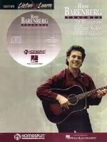 Russ Barenberg Teaches 20 Bluegrass Guitar Solos Repertoire Tunes For Intermediate Players Sheet Music