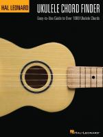 Hal Leonard Ukulele Chord Finder Easy-To-Use Guide To Over 1000 Ukulele Chords Sheet Music