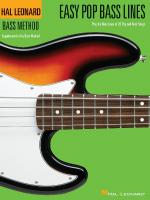 Easy Pop Bass Lines Supplemental Songbook To Book 1 Of The Hal Leonard Bass Method Sheet Music