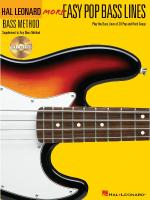 More Easy Pop Bass Lines Play The Bass Lines Of 20 Pop And Rock Songs Sheet Music