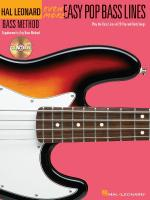 Even More Easy Pop Bass Lines Supplemental Songbook To Book 3 Of The Hal Leonard Bass Method Sheet Music