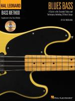 Blues Bass - A Guide To The Essential Styles And Techniques Hal Leonard Bass Method Stylistic Supple Sheet Music