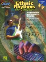 Ethnic Rhythms For Electric Guitar 5 Continents Sheet Music