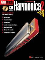 Fasttrack Harmonica Method Book 2 Sheet Music