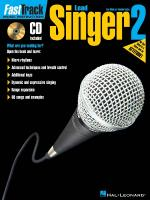 Fasttrack Lead Singer Method - Book 2 For Male Or Female Voice Sheet Music