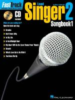 Fasttrack Lead Singer Songbook 1 - Level 2 For Male Or Female Voice Sheet Music