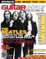 Guitar Edge Magazine Back Issue - July/August 2008 Sheet Music