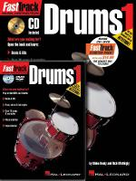 Fasttrack Drums Method Starter Pack Includes Book/CD/DVD Sheet Music