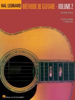 Hal Leonard Guitar Method Book 2 - 2nd Edition French Edition - Book Sheet Music