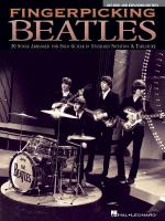 Fingerpicking Beatles - Revised & Expanded Edition 30 Songs Arranged For Solo Guitar In Standard Not Sheet Music