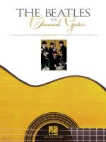 The Beatles For Classical Guitar Sheet Music
