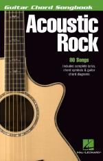 Acoustic Rock Guitar Chord Songbook (6 Inch. X 9 Inch.) Sheet Music