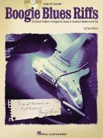 Boogie Blues Riffs 25 Classic Patterns Arranged For Guitar In Standard Notation And Tab Sheet Music