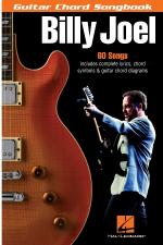 Billy Joel - Guitar Chord Songbook 6 Inch. X 9 Inch. Sheet Music