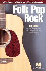 Folk Pop Rock Guitar Chord Songbook (6 Inch. X 9 Inch.) Sheet Music