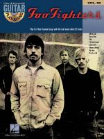 Foo Fighters Guitar Play-Along Volume 56 Sheet Music