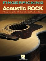 Fingerpicking Acoustic Rock 14 Songs Arranged For Solo Guitar In Standard Notation & Tab Sheet Music