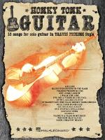 Honky Tonk Guitar 16 Songs For Solo Guitar In Travis Picking Style Sheet Music