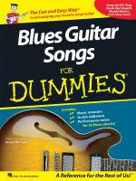 Blues Guitar Songs For Dummies Sheet Music