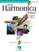 Play Harmonica Today! Level 1 Sheet Music