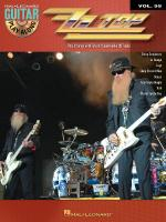 Zz Top Guitar Play-Along Volume 99 Sheet Music