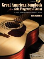 Great American Songbook For Solo Fingerstyle Guitar Sheet Music