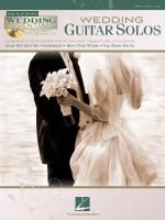Wedding Guitar Solos Wedding Essentials Series Sheet Music