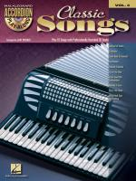 Classic Songs Accordion Play-Along Volume 3 Sheet Music