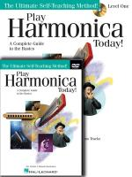 Play Harmonica Today! Beginner's Pack Level 1 Book/CD/DVD Pack Sheet Music