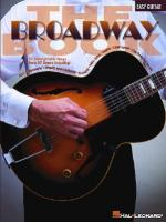 The Broadway Book Sheet Music