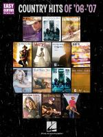 Country Hits Of '06-'07 Easy Guitar With Notes & Tab Sheet Music