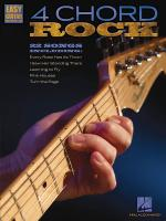4 Chord Rock Easy Guitar With Notes & Tab Sheet Music