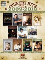 Country Hits Of 2009-2010 Easy Guitar With Notes & Tab Sheet Music
