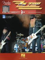Zz Top Fender Special Edition G-Dec Guitar Play-Along Pack Sheet Music