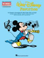 Walt Disney Favorites Hal Leonard Recorder Songbook Series Sheet Music