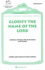 Glorify The Name Of The Lord Sheet Music