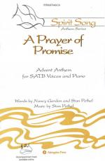 A Prayer Of Promise Sheet Music